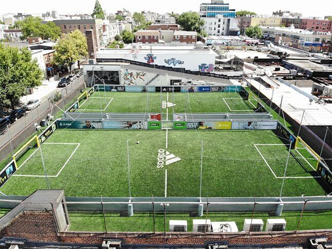Know Your Game on Full Size Indoor Soccer Field