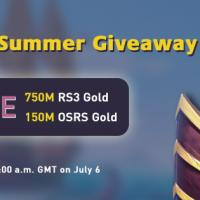 July 6 RS3gold Free 750M runescape 3 gold buy is your best summe