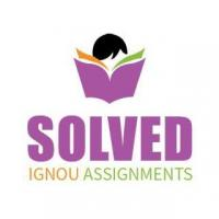 IGNOU Solved Assignments