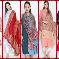 ladies woolen shawls in Pakistan