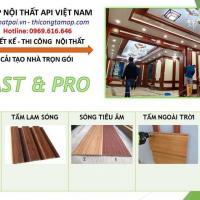 API Việt Nam - Tấm Ốp PVC Nano