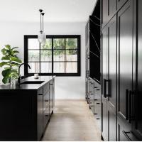 Matte Black Kitchen Handles