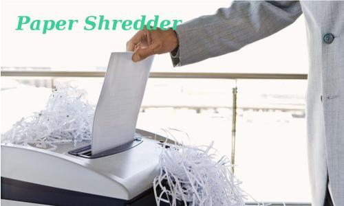 Buy Wholesale Paper Shredders