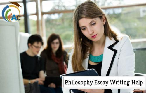 Philosophy Essay Writing Help