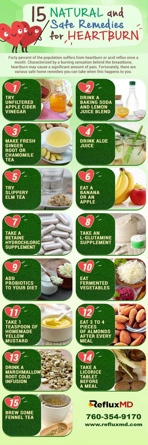 15 Natural and Safe Remedies For Heartbrun