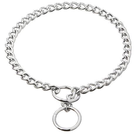 Stainless Steel P Chock Chain Training Dog Collars