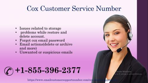 Cox Customer Service phone Number +1-855-396-2377