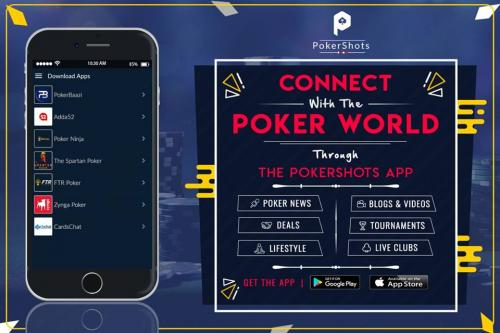 Download Pokershots App and Get Latest Poker News