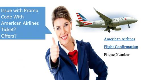 American Airlines Promo code phone number
