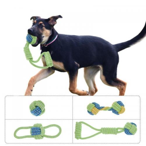 Durable Cotton Rope Puppy Dog Toys - Available In Different Styles