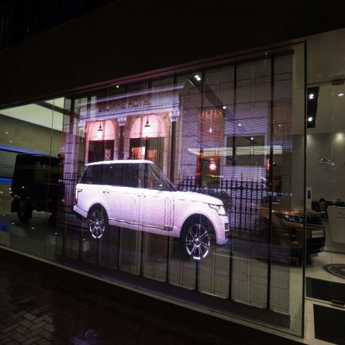 Transparent LED Glass Display Screen Boards Singapore | Zoom Visual