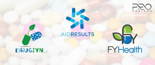 Medical logo designs, Healthcare logo design, Pharmacy logo design