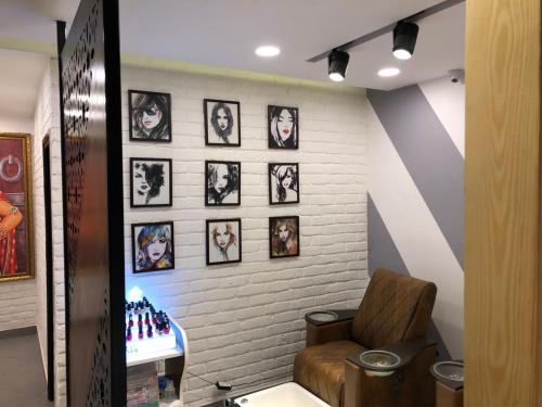Salon interior project in Bareilly done by Just Interio