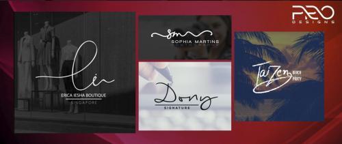 Signature Logo Design | Create Signature Logo