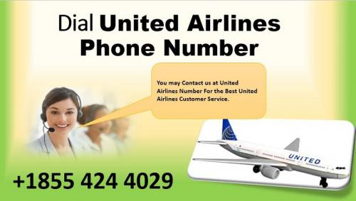 United Airlines Contact Number +1855 424 4029