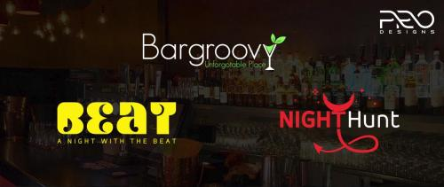 Beer Bar Logo Design | Wine bar Logo Design