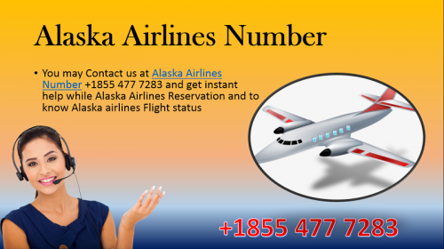 Alaska Airlines reservation Phone Number +1855 477 7283 toll-free