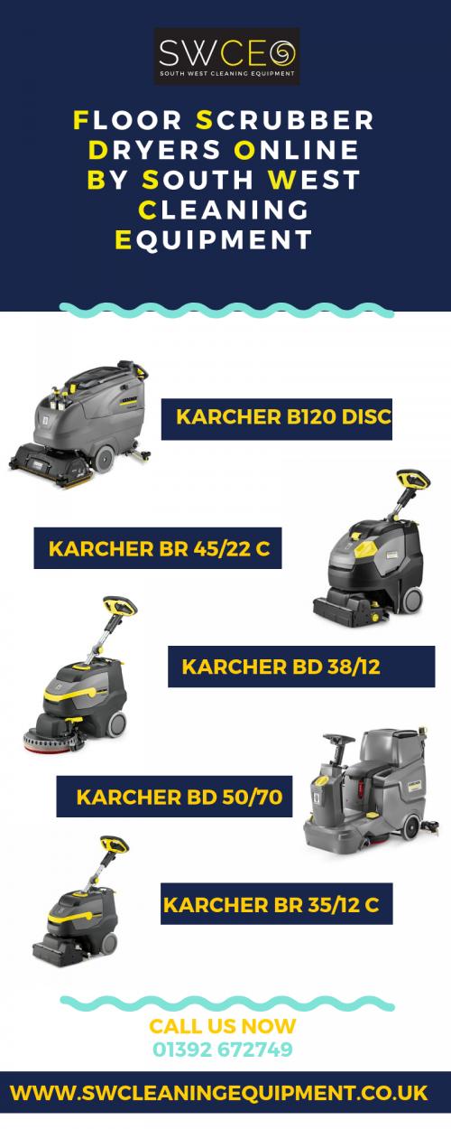 Floor Scrubber Dryers Online