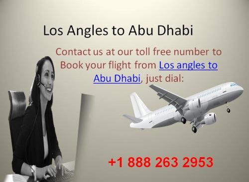 Los Angles to Abu Dhabi