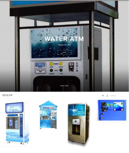 Water Atm Suppliers in India