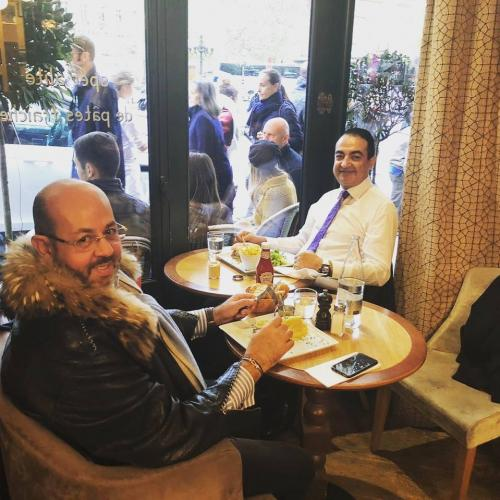 Mohamed Dekkak at salon international du patrimoine culturel 2018 Paris, France13