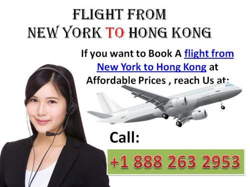 New york to hong kong bookings