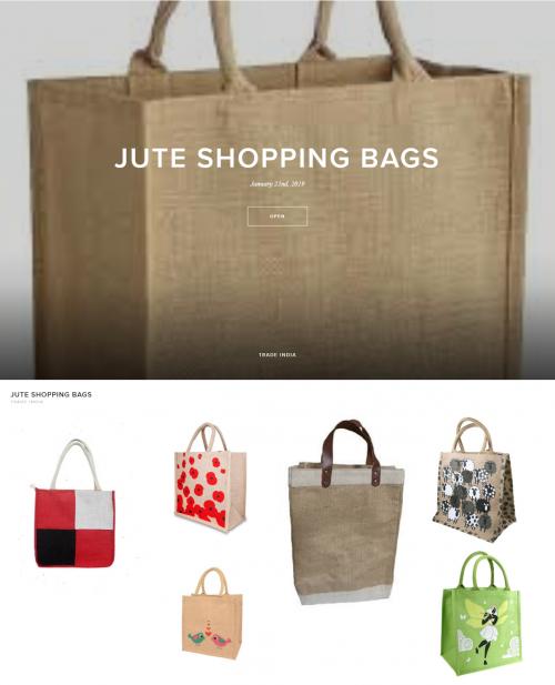 Jte Shopping Bags