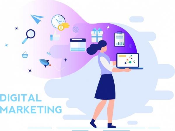 digital_marketing_background_woman_laptop_business_elements_decor_6838079