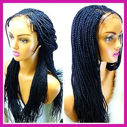 SHAY: Cornrow braided lace front wig cap