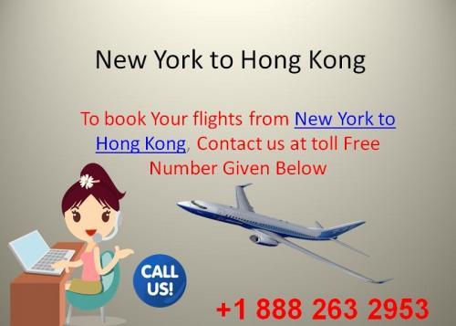 New York to Hong Kong