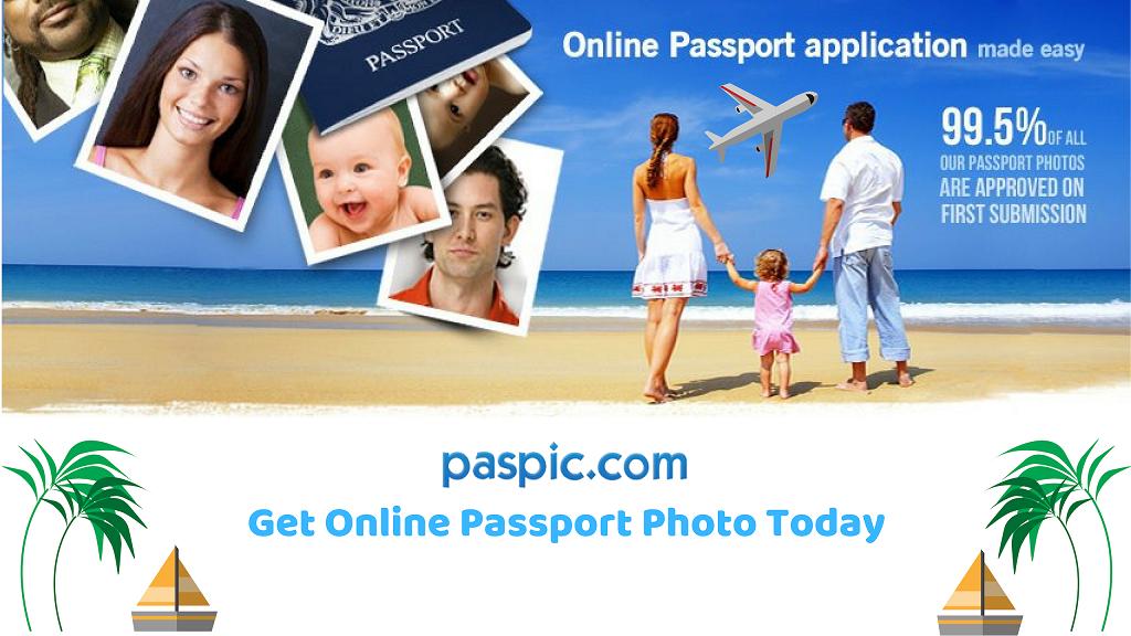 Get Online Passport Photo Today