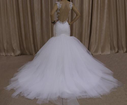 custom made wedding dress Made Replica Your Own Gown
