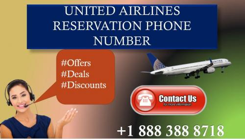 Low price air ticket bookings online at united airlines customer service number +1 888 388 8718