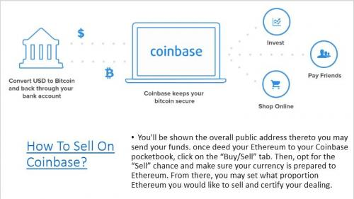 How To Sell On Coinbase