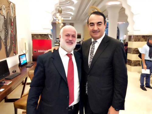 Mohamed Dekkak and Rabbin Yaacov Lévy