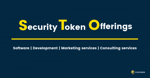 Security Token offering development company   STO consulting services