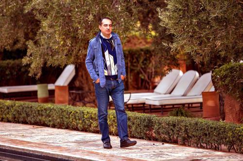 Mohamed Dekkak experiencing Beldi Country Club