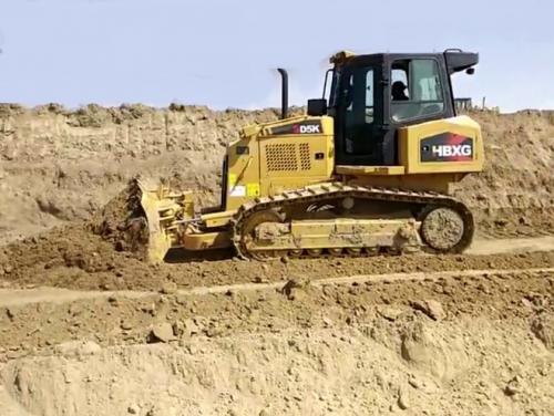 SD5K Bulldozer working