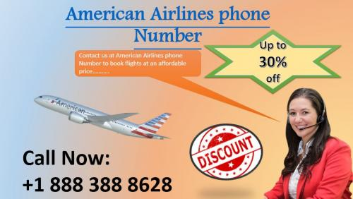 American Airlines phone Number +1 888 2632 953