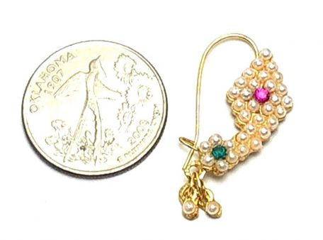 Buy Indian Traditional Imitation Nose Ring/Nath Online