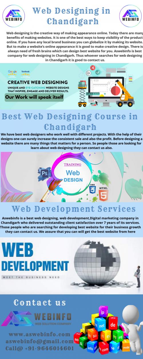 web designing in chandigarh