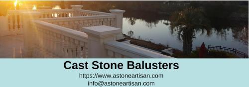 Unique designs of Cast Stone Balusters