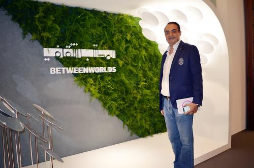 Mohamed Dekkak exploring Art Dubai 2019 at Madinat Jumeirah Dubai 10