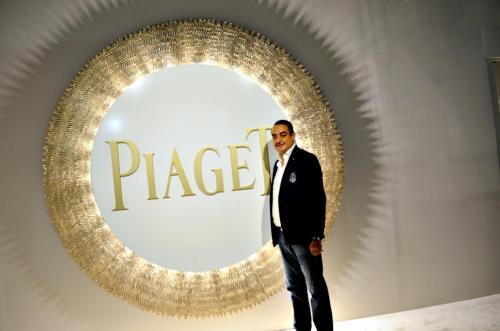 Mohamed Dekkak exploring Art Dubai 2019 at Madinat Jumeirah Dubai 1