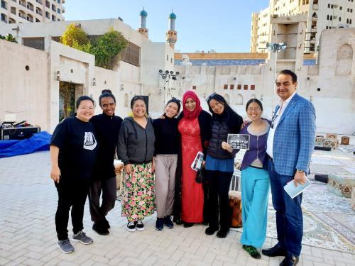 Mohamed Dekkak at Sharjah Art Foundation Opens Sharjah Biennial 14