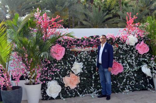 Mohamed Dekkak exploring Art Dubai 2019 at Madinat Jumeirah Dubai 7
