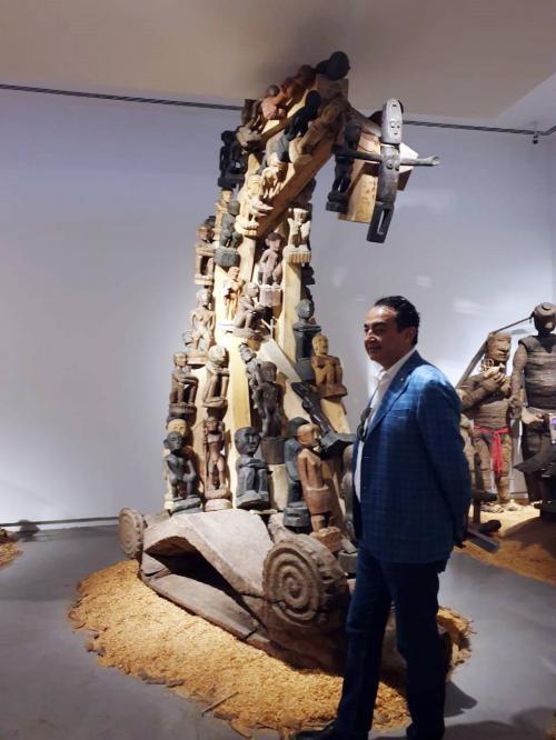 Mohamed Dekkak at Sharjah Art Foundation Opens Sharjah Biennial 14 2
