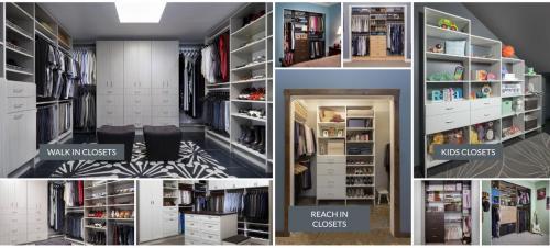 Custom Closet Systems & Organizers