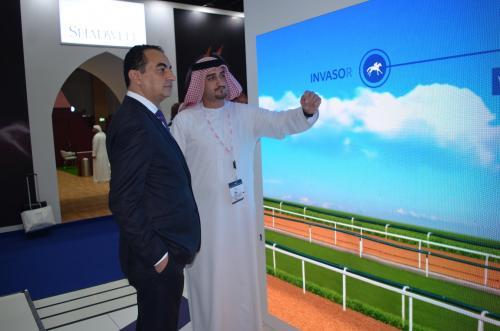 Mohamed Dekkak attended Dubai International Horse Fair (DIHF) 2019 at Dubai World Trade Center.  2