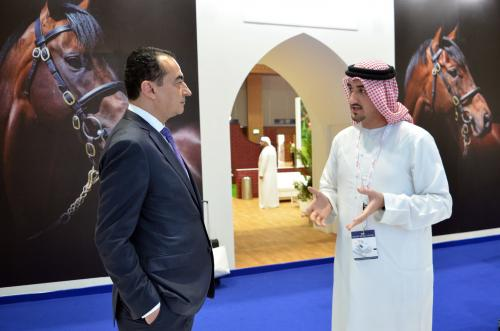 Mohamed Dekkak attended Dubai International Horse Fair (DIHF) 2019 at Dubai World Trade Center.